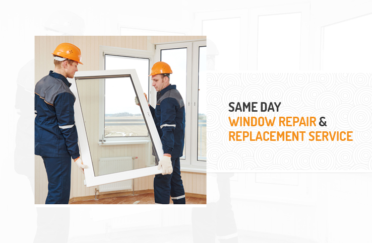 Window Repair and Replacement on the Same Day
