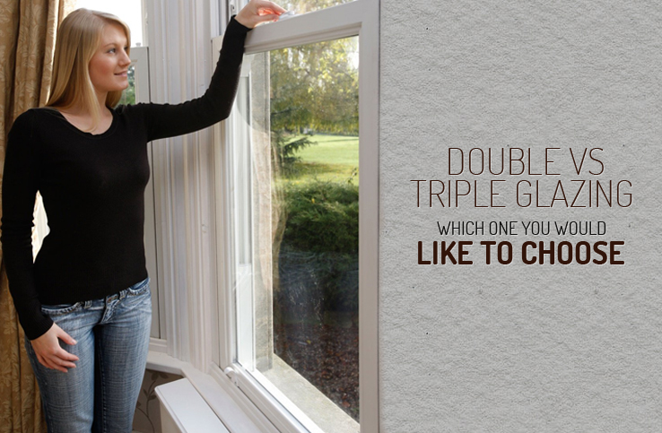 Double versus Triple Glazing
