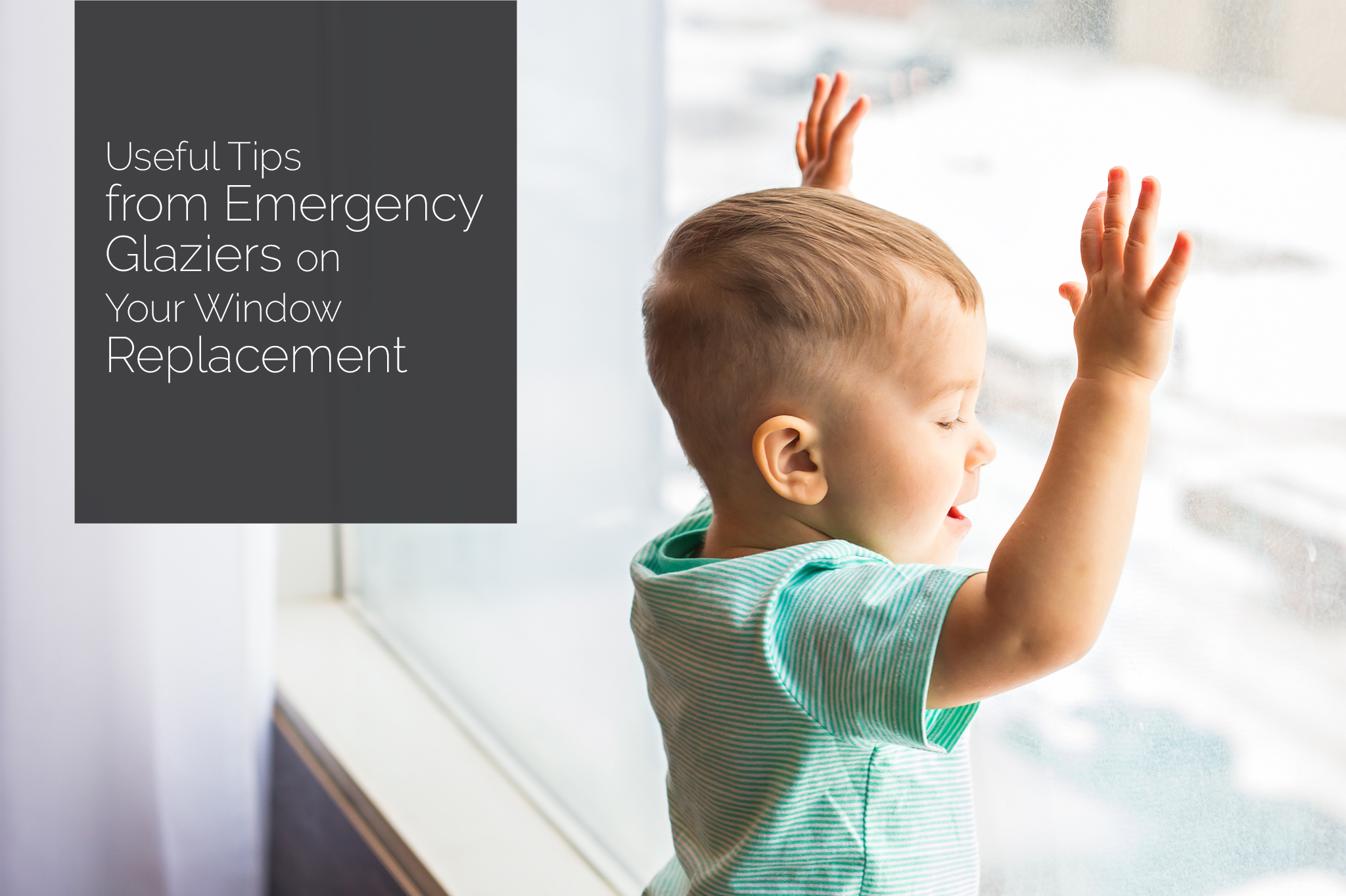 Right Glass Doors and Windows for the Safety of Your Child