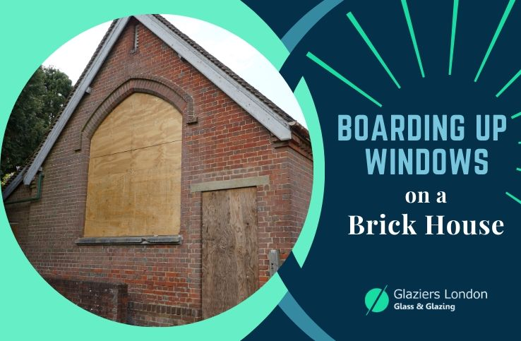 Boarding up the Windows on a Brick House