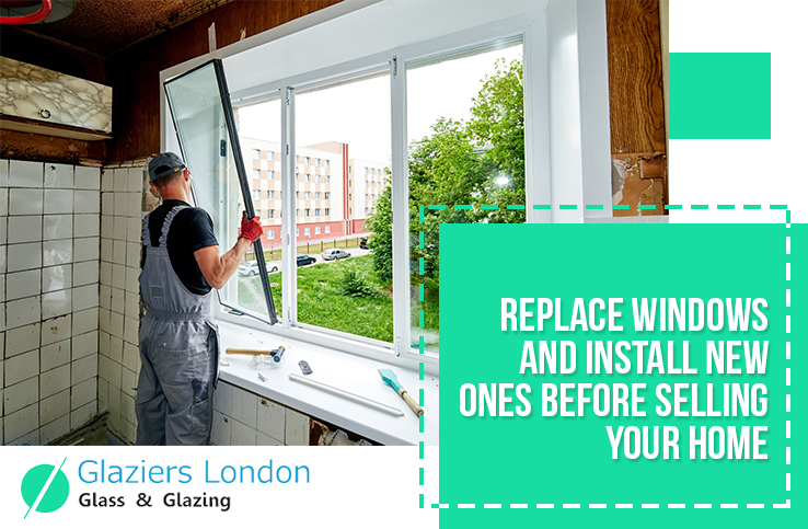 Replace Windows and Install New Ones before Selling Home